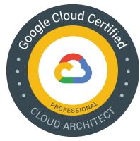 Google Cloud certified Cloud Architect