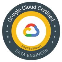 Google Cloud certified Data Engineer