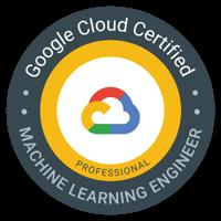 Google Cloud certified Machine Learning Engineer