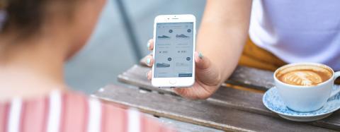 älypuhelin mobile design