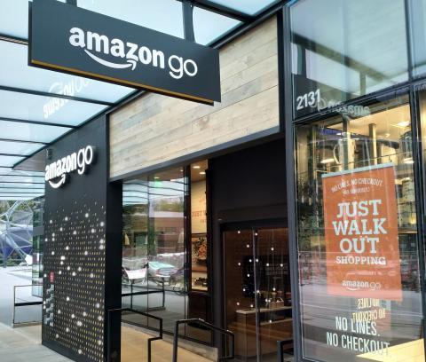 Amazon Go, tulevaisuuden ostamista kivijalkakaupassa