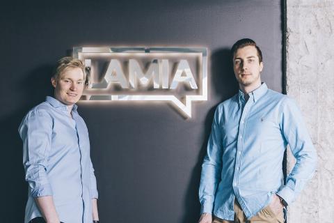 Vuoden helsinkiläinen nuori yrittäjä -palkinto tuli Lamian perustajille
