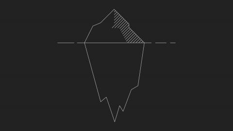 Jäävuorimetodi digitaaliseen kehitykseen - CX iceberg