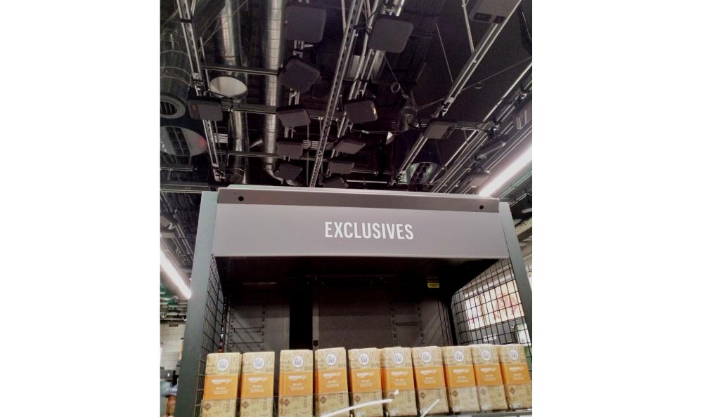 Amazon Go -kaupan kamerat seurasivat asiakkaan liikkeitä
