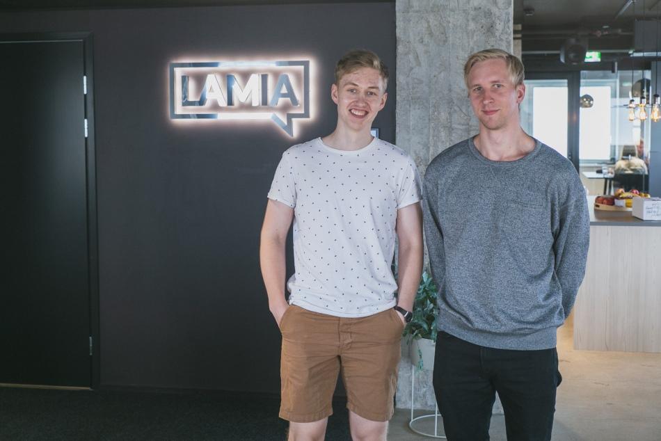 Aapo Kiiso ja Benjamin Olsson työskentelevät edelleen yhdessä asiakasprojekteissa