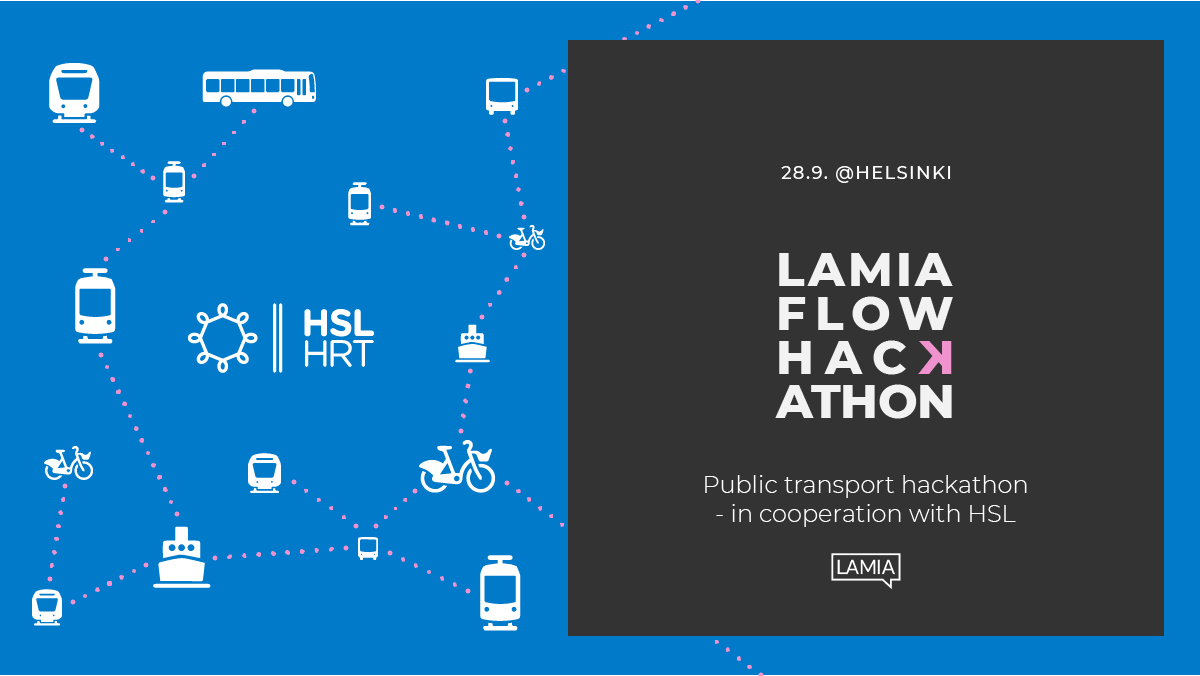 Lamia Flow hackathon with HSL