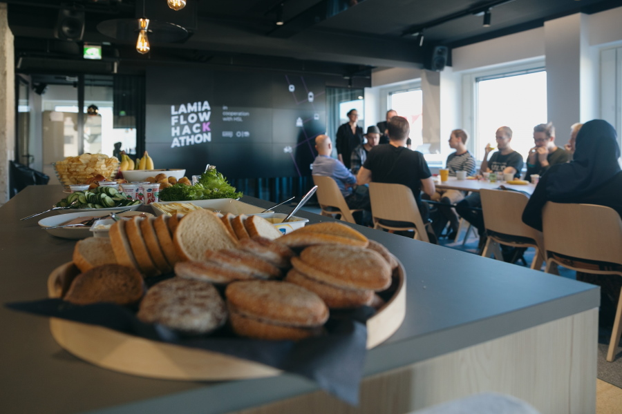 Lamia Flow hackathon: Saturday breakfast